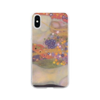 グスタフ・クリムト / 水蛇 II / 1907 / Gustav Klimt / Water snake II Soft clear smartphone cases