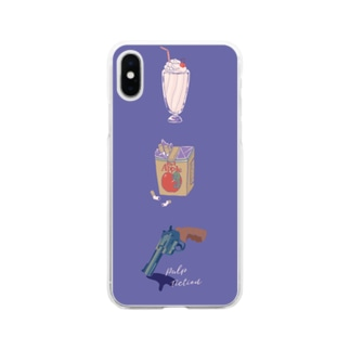 名作映画 Soft clear smartphone cases