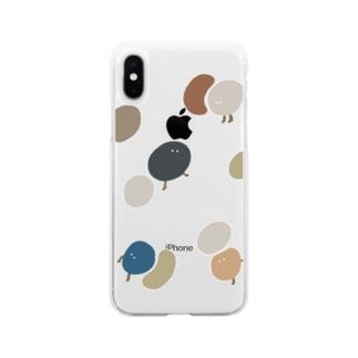 たくさん Soft clear smartphone cases
