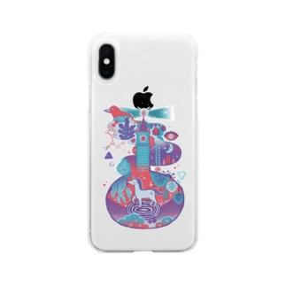 Wonderland Soft clear smartphone cases
