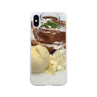 甘い誘惑 Soft clear smartphone cases