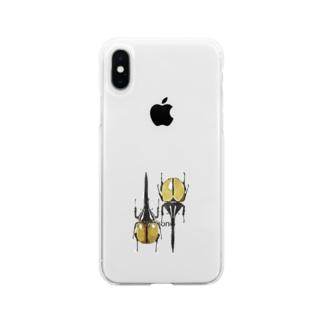 ヘラクレス・ヘラクレス Soft clear smartphone cases