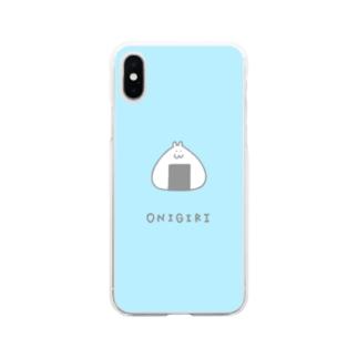 むすびんちょ はむたそ Soft clear smartphone cases