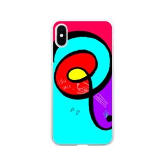 シュリンプくんの挑戦 Soft clear smartphone cases