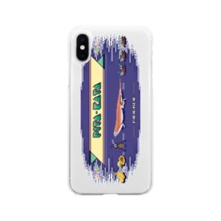 8bit ぴこぴこピタカタ Soft clear smartphone cases