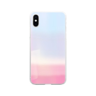 一目惚れ Soft clear smartphone cases