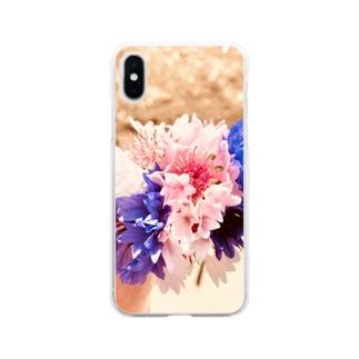 矢車想 Soft clear smartphone cases