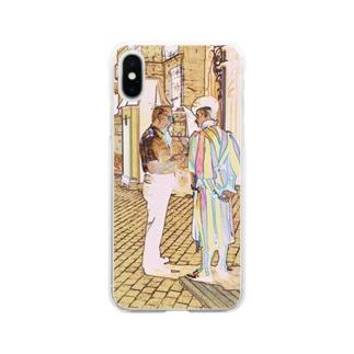 CG絵画:ヴァチカンのスイス人衛兵 CG art: Vatican guard Soft clear smartphone cases