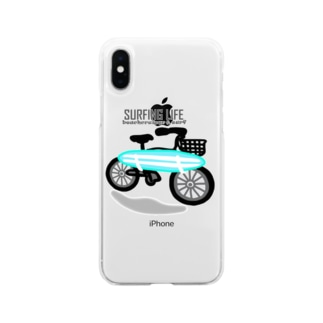 SURFING LIFE Soft clear smartphone cases