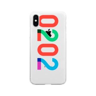 marikiroの0202 anniversary Soft clear smartphone cases