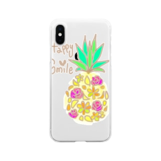mixパインシリーズ1 Soft clear smartphone cases