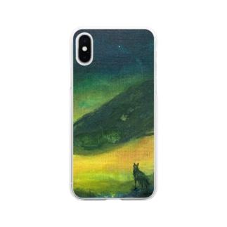 月ノ子の森に恋してのムラナギ/ジキムとロッカ Soft clear smartphone cases