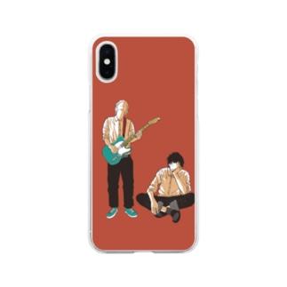 踊るこどもたちの楽と大洋 Soft clear smartphone cases