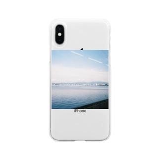 車窓 Soft clear smartphone cases