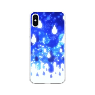 雨空 Soft clear smartphone cases