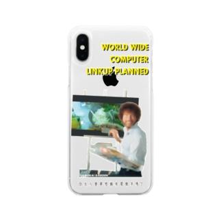 電気羊の夢ケース Soft clear smartphone cases