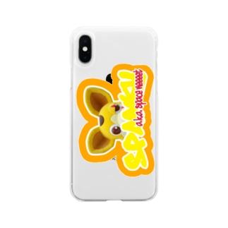 覗き見宇宙海賊 Soft clear smartphone cases
