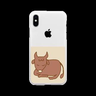 アカネワの牡牛座 Soft clear smartphone cases