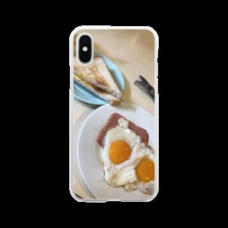 HKG パンダのA餐 Soft clear smartphone cases