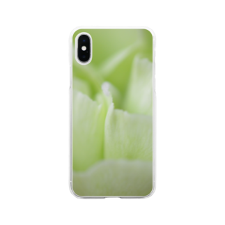 1/FのCarnation カーネーション Soft clear smartphone cases