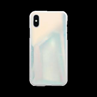 1/FのQuarz 水晶 Soft clear smartphone cases