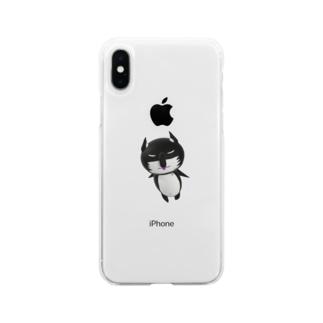 ペペッコ3Dシリーズ Soft clear smartphone cases