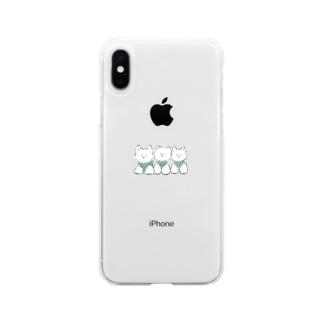 ウエスティグッズ Soft clear smartphone cases