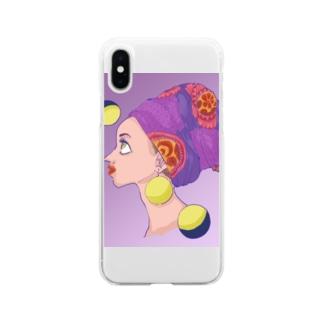 ドリーミング・ターバン Soft clear smartphone cases