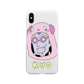 KAOシリーズ#3 Soft clear smartphone cases