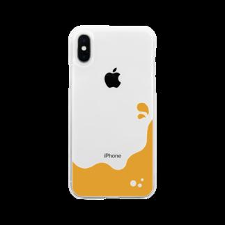 dolparchitectのキイロイ液体 Soft clear smartphone cases