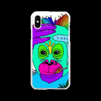 ReijiartのMonkeyman Soft clear smartphone cases