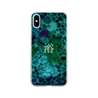 浴葬 Soft clear smartphone cases