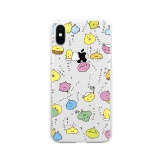わたわたのおみせのナハレーズ Soft clear smartphone cases