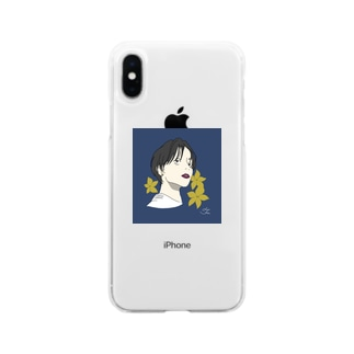 ぼーいっしゅ Soft clear smartphone cases