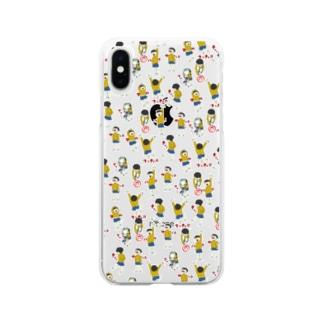 小学生 Soft clear smartphone cases