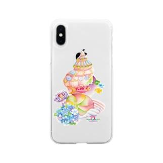 貝の家 Soft clear smartphone cases