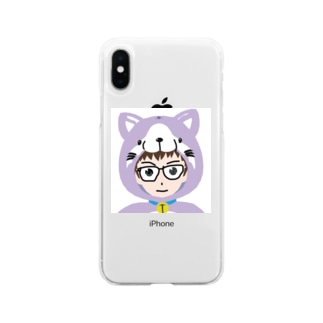 こうちゃん50da4・mirrativ配信者のこうちゃんアイコン Soft clear smartphone cases