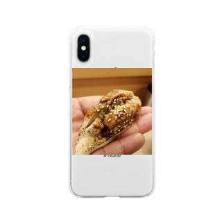 穴子寿司 Soft clear smartphone cases