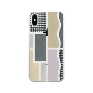 SON.S  - ソンス - 図案作家 -のベルギーの扉 Soft clear smartphone cases