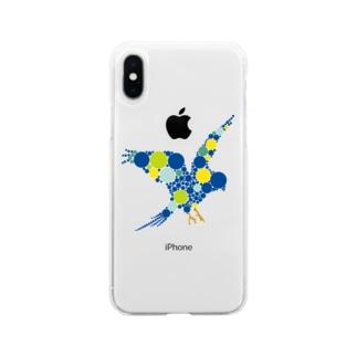 bluebird. Soft Clear Smartphone Case