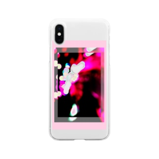 overlap2 Soft clear smartphone cases