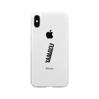Yamayu ブラックシリーズ Soft clear smartphone cases