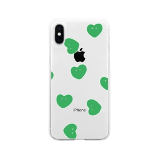 LOVE MAN GREEN Soft clear smartphone cases
