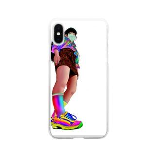 ださい Soft clear smartphone cases