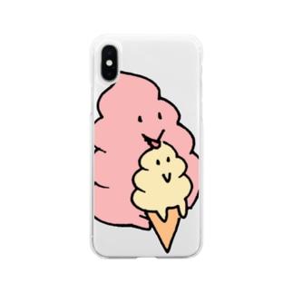 UNCHIKUN(ペロリ) Soft clear smartphone cases