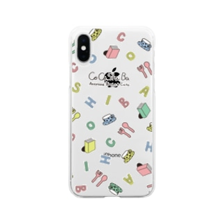 ココシバ×NAO Soft clear smartphone cases