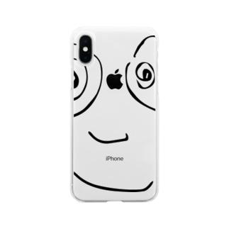 ほりすけ Soft clear smartphone cases