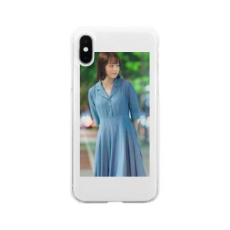 さくらこケース Soft clear smartphone cases