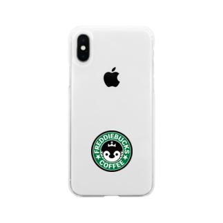 Freddiebucks Coffee Soft clear smartphone cases