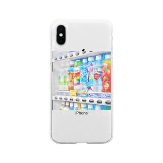 チェリオの自販機がここまでバエルと思わんだ Soft clear smartphone cases